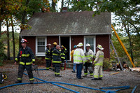 Working Fire Millbury, MA on McArthur Drive October 08, 2012
