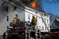 2nd Alarm Pawtucket, RI 111 Randall St January 6, 2012