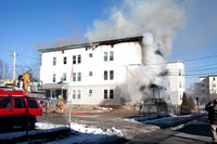 3rd Alarm Woonsocket, RI 179 Lincoln St January 10, 2013