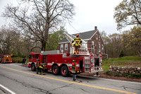 Chimney Fire Uxbridge, MA 317 Aldrich St April 23, 2012