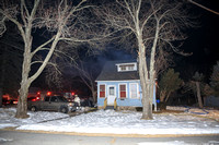 Working Fire Bellingham, MA 10 Pine Grove Ave March 7, 2014