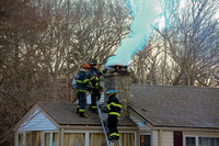ACW Chimney Fire North Smithfield, RI 791 Pound Hill Rd. January 11, 2011