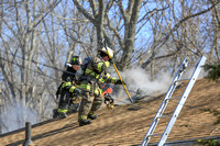 Working Fire Attleboro, MA 265 East Ave March 22, 2017