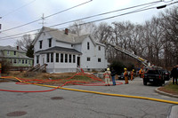 Working Fire Woonsocket, RI 235 Eight Ave December 05, 2010